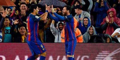 (VIDEO) España, el Barcelona goleó al Sevilla con goles sudamericanos