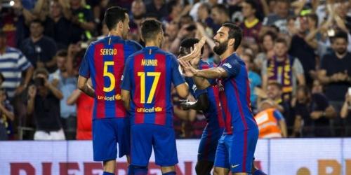 (VIDEO) España, el Barcelona goleó al Sevilla y se adjudicó la Supercopa