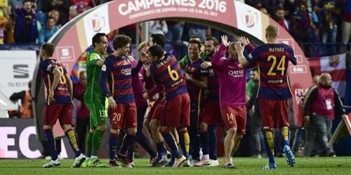 (VIDEO) España, el Barcelona derrotó al Sevilla y se lleva también la Copa del Rey