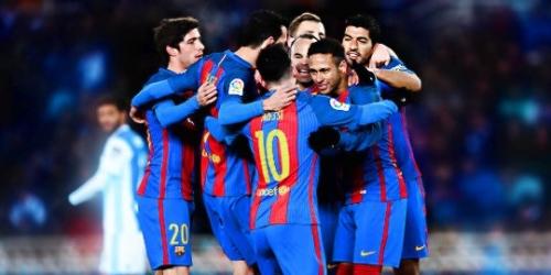 (VIDEO) España, el Barcelona superó a la Real Sociedad de la mano de Neymar