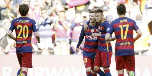 (VIDEO) España, el Barcelona volvió a golear en la Liga BBVA