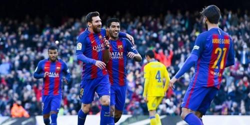 (VIDEO) España, el Barcelona volvió a la victoria en Liga con una goleada al Las Palmas