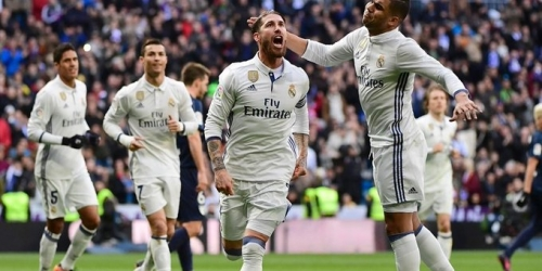(VIDEO) España, el Madrid volvió a la victoria con triunfo frente al Málaga por 2-1