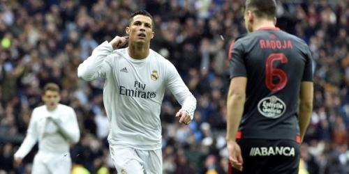 (VIDEO) España, el Real Madrid goleó 7-1 al Celta de Vigo