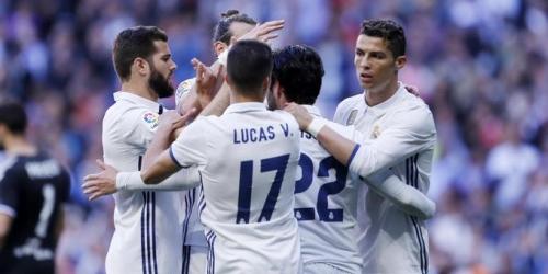 (VIDEO) España, el Real Madrid goleó al Alavés y seguirá de líder de la Liga