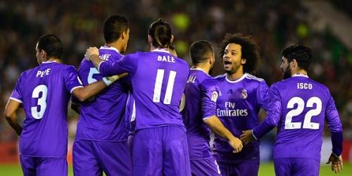 (VIDEO) España, el Real Madrid respondió al Barça con otra goleada