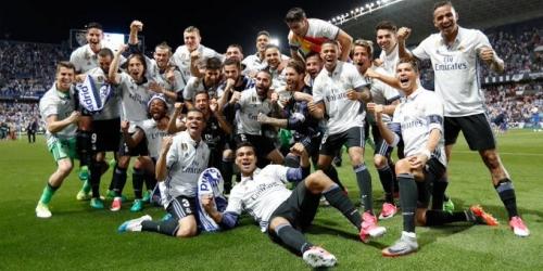 (VIDEO) España, el Real Madrid se coronó campeón de la Liga Santander!