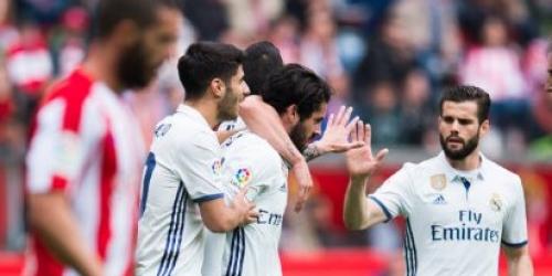 (VIDEO) España, el Real Madrid sufrió pero venció al Sporting por 2-3