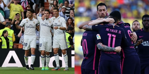 (VIDEO) España, Real Madrid y Barcelona golearon en la Liga Santander