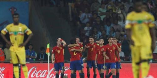 (VIDEO) España venció a Mali y jugará la final del Mundial Sub 17 frente a Inglaterra