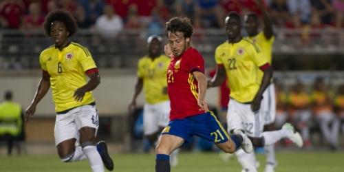 (VIDEO) España y Colombia empataron 2-2 en Murcia