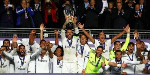 (VIDEO) Europa, el Real Madrid venció al Sevilla en la Supercopa de la UEFA