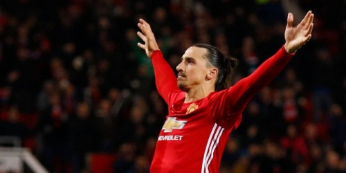 (VIDEO) Europa League, con triplete de Ibrahimovic el Manchester United superó al Saint-Étienne