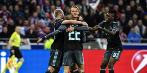 (VIDEO) Europa League, el Ajax eliminó al Lyon agónicamente y está en la final