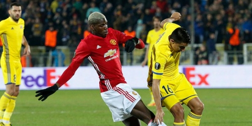 (VIDEO) Europa League, el Manchester United empató 1-1 frente al Rostov