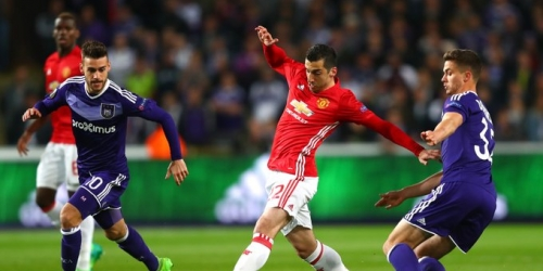(VIDEO) Europa League, el Manchester United empató en su visita al Anderlecht