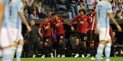 (VIDEO) Europa League, el United sacó ventaja frente al Celta en las semifinales