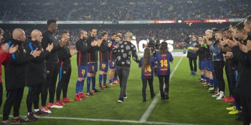 (VIDEO) FC Barcelona se despide de Javier Mascherano