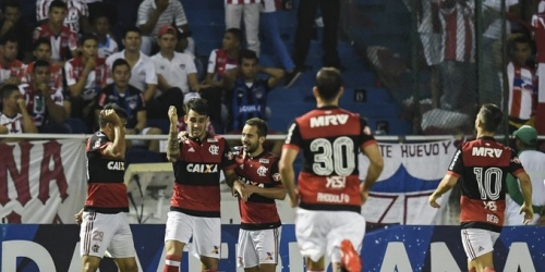 (VIDEO) Flamengo le ganó a Junior y avanzó a la final de la Copa Sudamericana