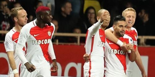 (VIDEO) Francia, el Monaco ganó el duelo de punteros con doblete de Falcao