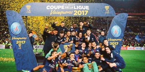 (VIDEO) Francia, el PSG goleó al Mónaco en la final de la Copa de Liga