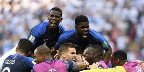 (VIDEO) Francia entra a cuartos de final al superar a Argentina 4 a 3