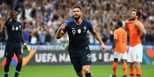 (VIDEO) Francia se impusó 2-1 a Holanda