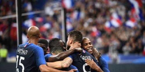 (VIDEO) Francia vence 2 a 0 a Irlanda por amistoso previo al Mundial de Rusia