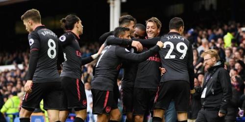 (VIDEO) Goleada del Arsenal sobre un Everton en crisis