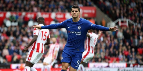 (VIDEO) Hat-trick de Morata en el Stoke City 0 - 4 Chelsea