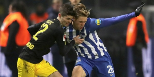 (VIDEO) Hertha Berlin empató 1-1 contra el Borussia Dortmund