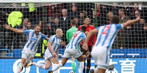 (VIDEO) Huddersfield rompe el invicto del Manchester United