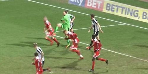 (VIDEO) Increíble forma de perder un partido