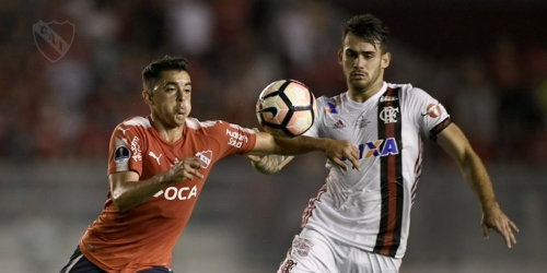 (VIDEO) Independiente ganó en la primera final de ida contra Flamengo