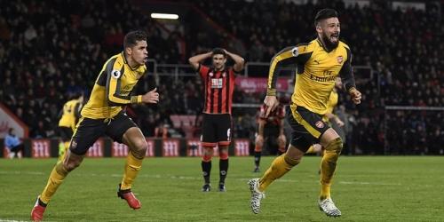 (VIDEO) Inglaterra, el Arsenal logró un dramático empate frente al Bournemouth