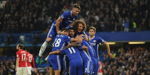 (VIDEO) Inglaterra, el Chelsea aplastó al Manchester United en la Premier League