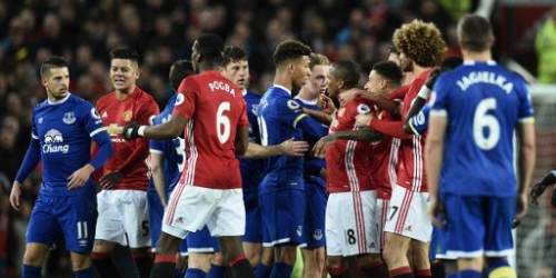 (VIDEO) Inglaterra, el Manchester United empató agónicamente frente al Everton