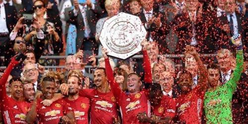 (VIDEO) Inglaterra, el Manchester United se llevó la Community Shield al derrotar al Leicester