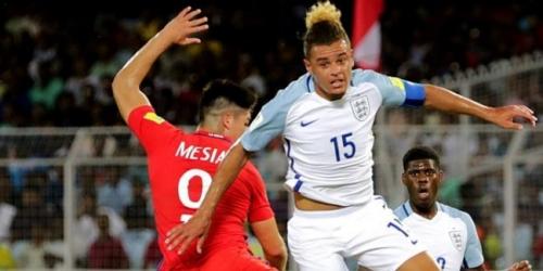 (VIDEO) Inglaterra venció a Chile en el Mundial Sub 17