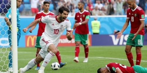 (VIDEO) Irán gana 1 a 0 a Marruecos en el último minuto del partido