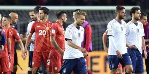 (VIDEO) Italia empató frente a Macedonia y jugará el repechaje para ir al Mundial de Rusia 2018