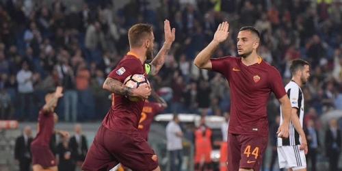 (VIDEO) Italia, la Roma derrotó a la Juve y pone suspenso en la Serie A