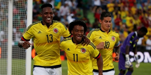 (VIDEO) James, Mina e Izquierdo: Colombia goleó a Camerún en amistoso