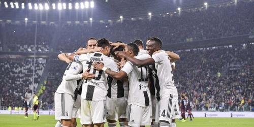 (VIDEO) Juventus ganó 3 a 1 al Cagliari y suma 31 puntos en la Serie A