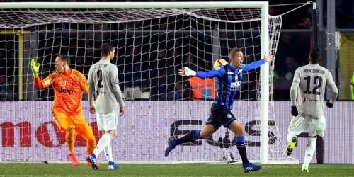 (VIDEO) Juventus queda eliminado por el Atalanta en la Copa de Italia