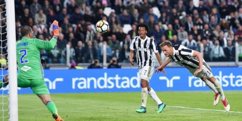 (VIDEO) La Juve golea a la Sampodria y se acerca al título de la Serie A