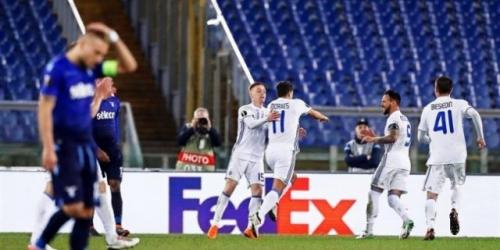 (VIDEO) La Lazio y el Dinamo Kiev empataron por la ida de los Octavos de Final de la Europa League