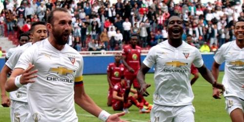 (VIDEO) Liga de Quito golea a Técnico Universitario