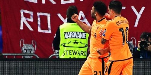 (VIDEO) Liverpool degusta un 7 a 0 en Champions League