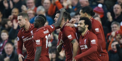 (VIDEO) Liverpool goleó y saca diferencia en la Premier League